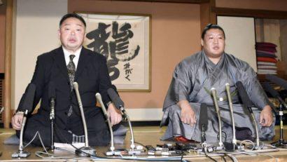 Takanoiwa annonce sa démission en compagnie de Chiganoura oyakata