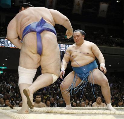 Les sekiwake à la lutte pour le titre
