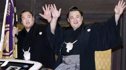 Tamawashi remporte son premier titre