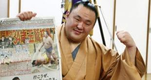 Tamawashi conférence de presse