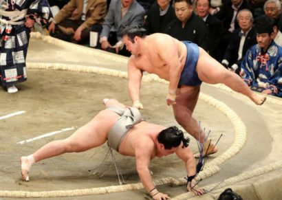 Hakuhô fait chuter Kotoshogiku
