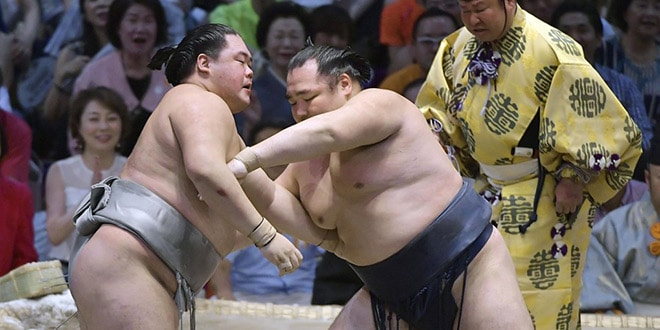 J9 – Kakuryu s'empare seul de la tête du tournoi