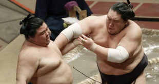 Terunofuji contre Shodai
