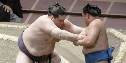 Terunofuji contre Hoshoryu
