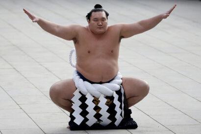 Hakuho cérémonie