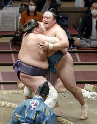 Terunofuji sort Tamawashi